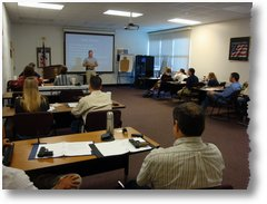 Classroom training with the Virginia Beach Commonwealth Attorney's Office